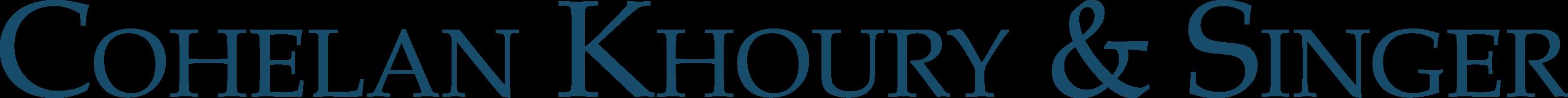 Cohelan Khoury & Singer Logo